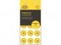 z6941 - etykiety inspekcyjne samoprzylepne okrągłe Avery Zweckform No Peel 2018, 20 mm kółka żółte, 120 szt./op.Towar dostępny do wyczerpania zapasów!!