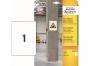 z7877 - etykiety samoprzylepne do trudnych powierzchni Avery Zweckform 7877 papierowe 210 x 297 mm, ark. A4, 20 ark./op.