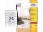 z7950 - etykiety do oznaczania kabli białe Avery Zweckform L7950-20 60x40 mm, 24x20, 20 ark./op.