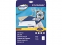 ze90406 - etykiety samoprzylepne na CD / DVD uniwersalne białe Economy Europe100 by Avery Zweckform 90406 papierowe średnica 117 mm, 25 ark./op.